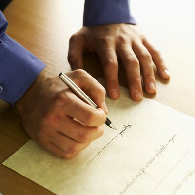 A warranty deed is evidence of a voluntary sale of a property and a trustee deed represents an involuntary one.