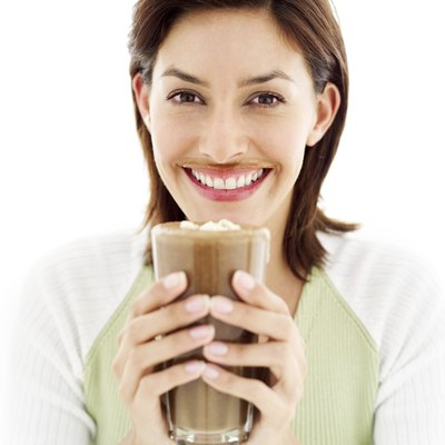 Drinking chocolate milk can help your muscles recover.