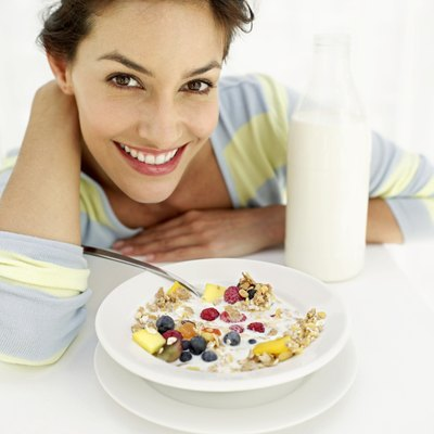 A healthy breakfast is an important component of healthy weight control.