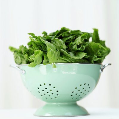 Although it's nutritious, spinach might not be the best option of increasing your iron intake.