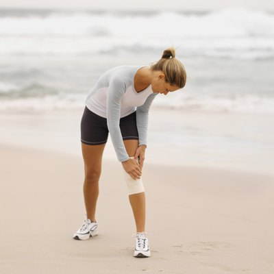 Using a brace can help give your knee extra support.