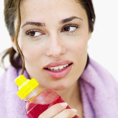 Sports drinks can help you rehydrate after vomiting.