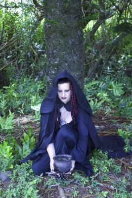 Wiccan High Priests and Priestesses lead the coven.