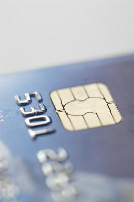 EMV chips carry credit card information.