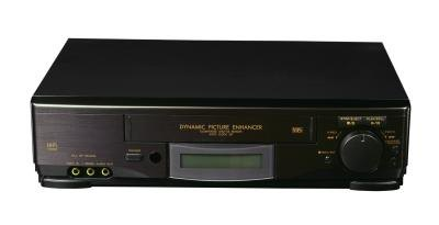 Selecting the faster recording speed allows you to record more on a VHS tape.