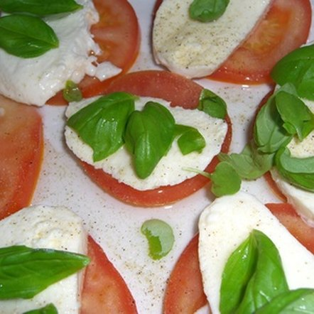 Mozzarella is a good dairy choice for lactose-intolerant people.