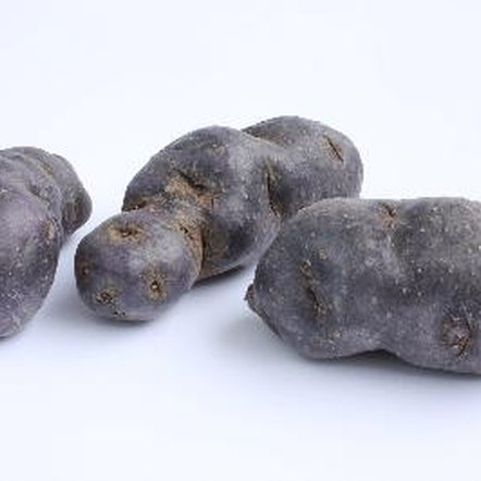 Blue potatoes add nutrient value and variation to menu plans.