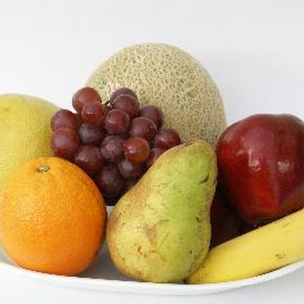 Healthy fresh fruits and vegetables don't contain nutrition labels.