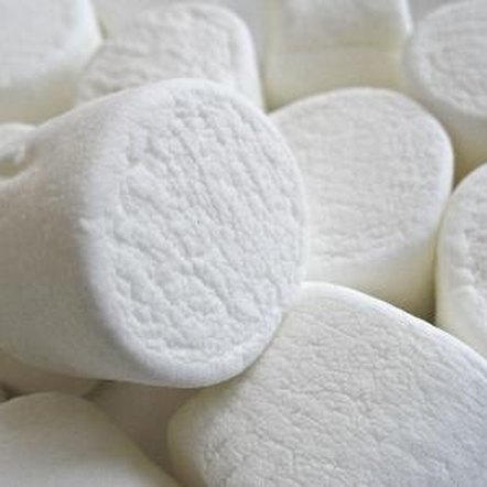 One regular marshmallow contains 23 calories.
