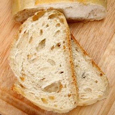 Wheat bread and wheat-based products contain gluten.