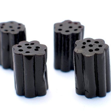 Black licorice candy often contains glycyrrhizin, especially European brands.