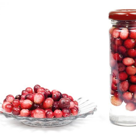 Tart and tasty, cranberries are low in natural sugar.