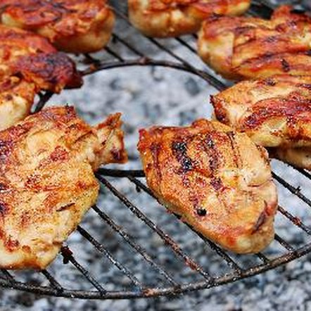 A 3-ounce portion of grilled chicken provides about 27 grams of protein.