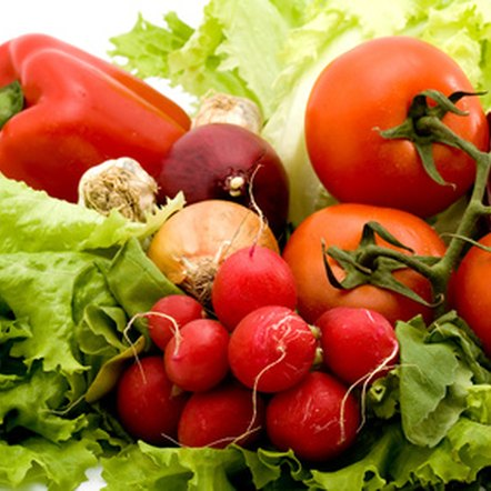 Vegetables provide a variety of vitamins and nutrients.