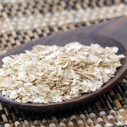 Oat bran and rolled oats both offer multiple nutrients.