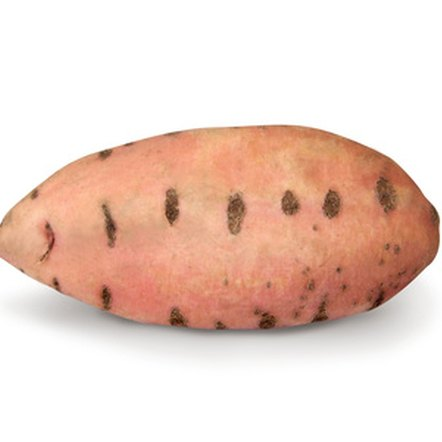 Sweet potatoes are a good source of fiber.