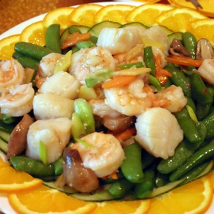 Seafood dishes are often lower in fat than red meat-based meals.