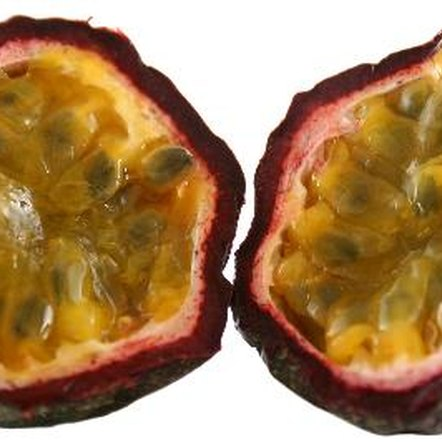 Passion fruit is rich in iron, antioxidants and fiber.