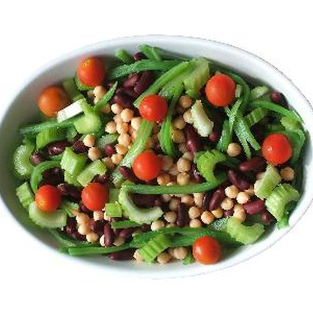 Beans provide a good source of soluble fiber.