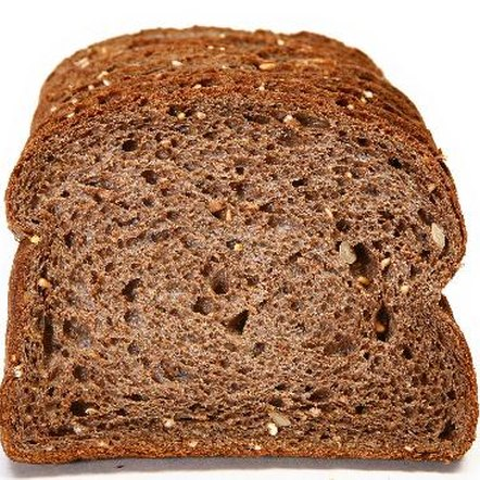 Whole wheat bread has a similar impact on insulin levels as white bread.