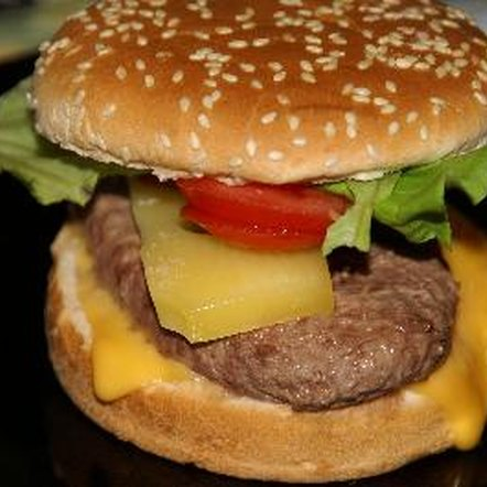 The average hamburger patty weighs approximately 3 ounces.