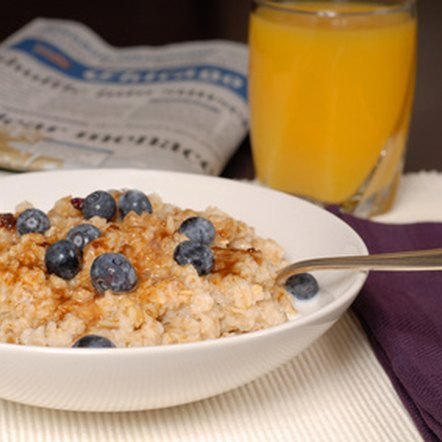 Oatmeal is good for your heart.