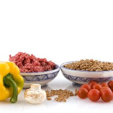 Whole grains, meats, fruits and vegetables all contain minerals.