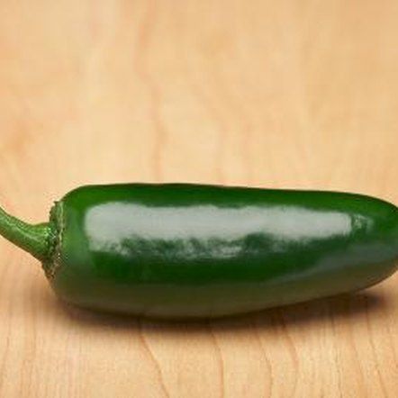 Jalapeno peppers contain a high concentration of vitamin A and vitamin C.