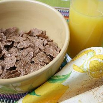 Wheat bran cereal is a common source of nondigestible fiber.