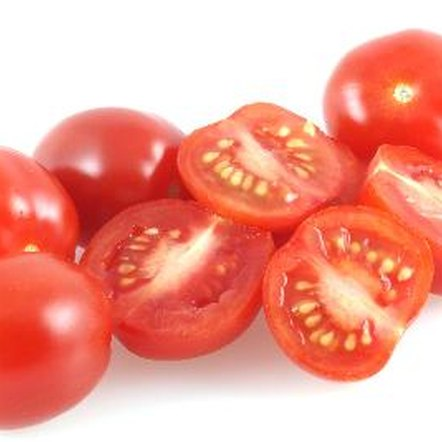 A cup of cherry tomatoes contains 27 calories.
