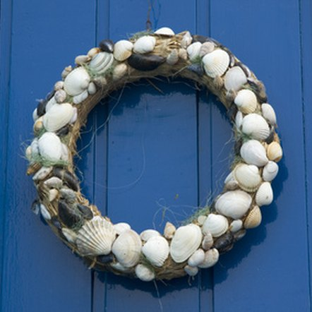 Garlands made with natural materials are often used in Wiccan decorations.