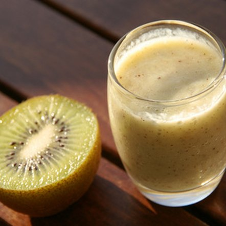 Fruit smoothies provide you with essential vitamins and minerals.