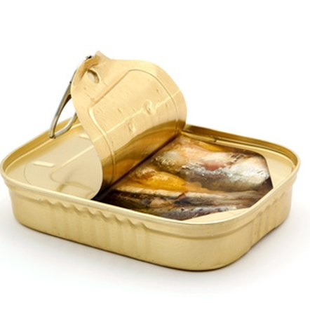 Canned fish is an affordable source of low-carb protein.