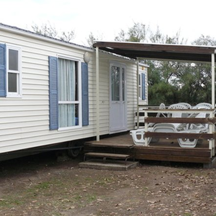 The FHA insures loans on eligible manufactured homes, also known as mobile homes.