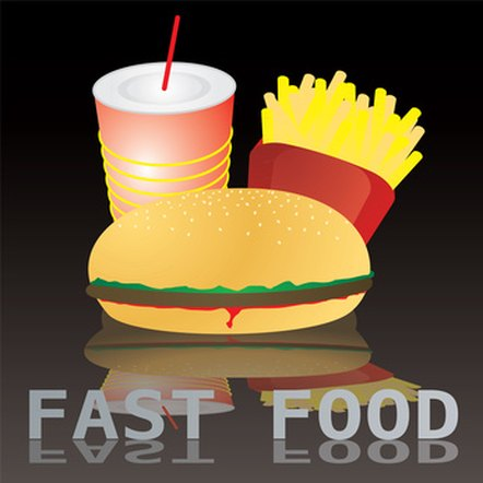 Some teens eat at fast-food restaurants six times a week.