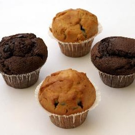 A medium-sized muffin can contain up to 350 calories.