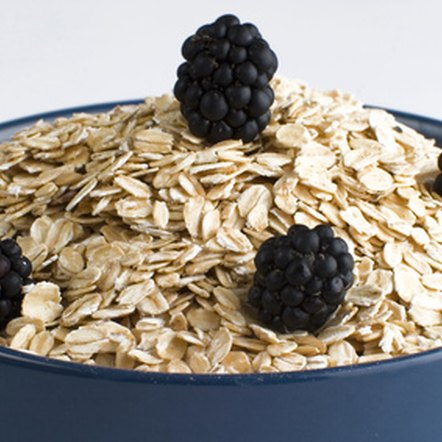 Old-fashioned oats can help lower your cholesterol levels.