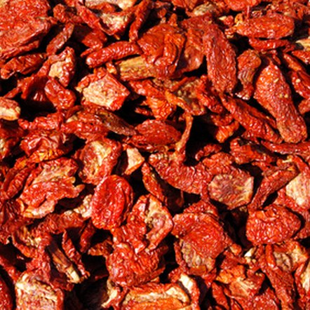 Sun-dried tomatoes are a good source of antioxidants.