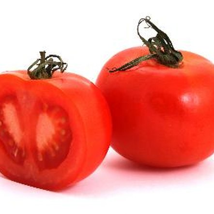 Tomatoes are low in fat and calories.