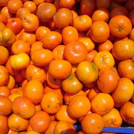 Mandarins give a boost of vitamin C.