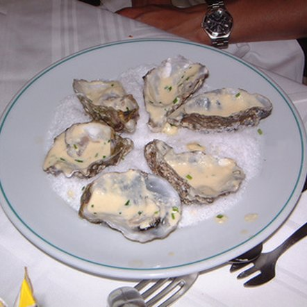 Zinc is found in high amounts in oysters.