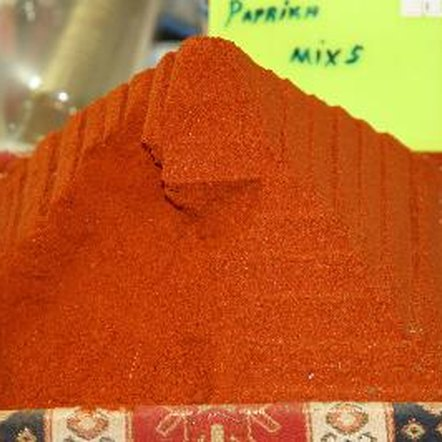 Paprika is packed with antioxidants.