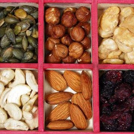 Raw nuts and seeds contain digestive enzymes.