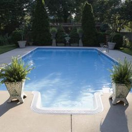 Proper pH adjustment in a swimming pool means keeping the acidity low.