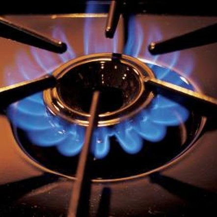 A yellow burner flame means the burner is not getting enough air.