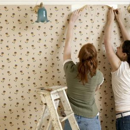 You can paint over wallpaper if it is in good condition.