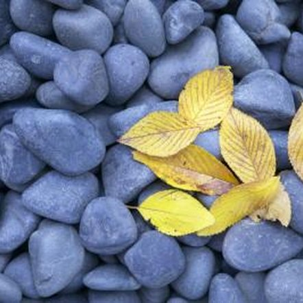 Colorful stones add beauty and interest to your garden.
