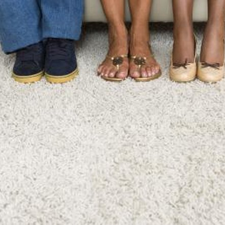 In California, the landlord may replace carpet that poses a health hazard.