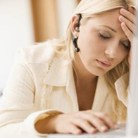 An iron deficiency, common in women, leads to fatigue and exhaustion.