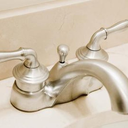 Avoid abrasive cleansers on brushed metal faucets.